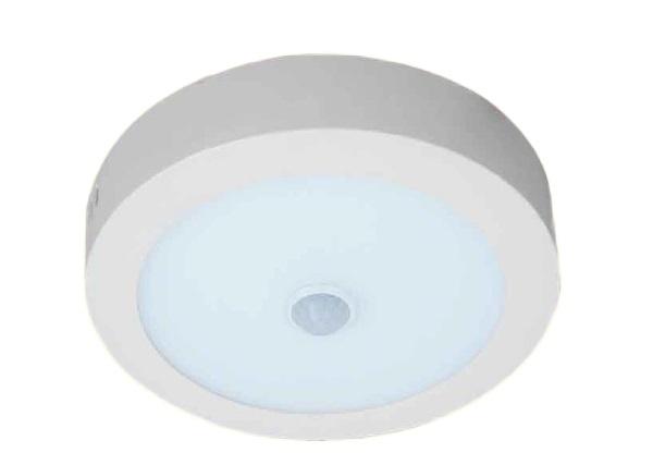 Đèn LED nổi trần cảm ứng hồng ngoại 24W KAWALED NTS300-24W