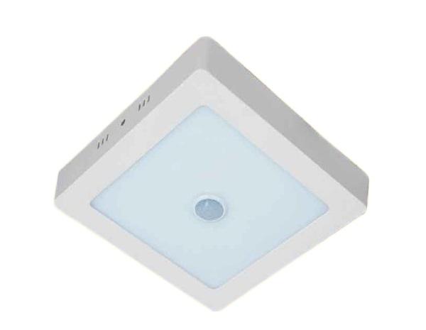 Đèn LED nổi trần cảm ứng hồng ngoại 24W KAWALED NVS300-24W