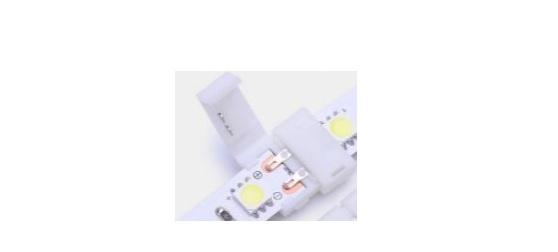 Đầu nối thẳng cho led dây đơn sắc (10mm) VinaLED SC-2P-10-NW