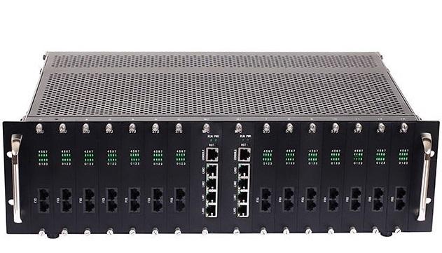 Analog VoIP Gateway (Cổng nối mạng) Dinstar DAG3000-112S