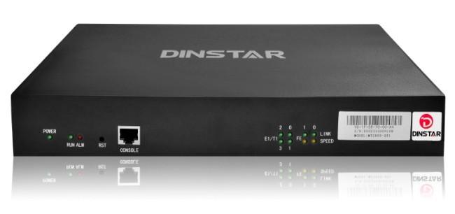 Digital VoIP Gateway Dinstar MTG600-4E1