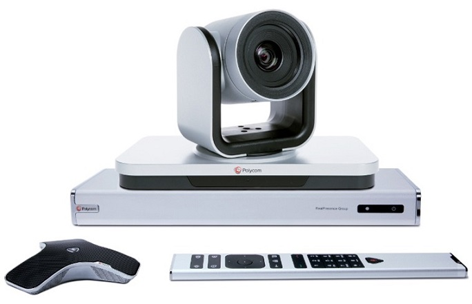 VIDEO CONFERENCE POLYCOM Group 500 camera 12x