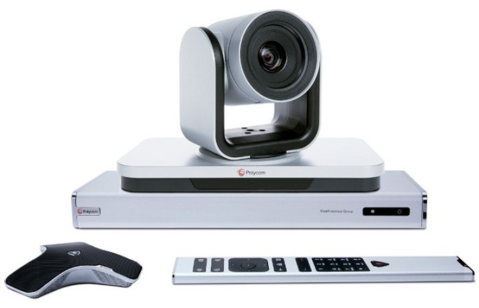 VIDEO CONFERENCE POLYCOM Group 700 camera 12x