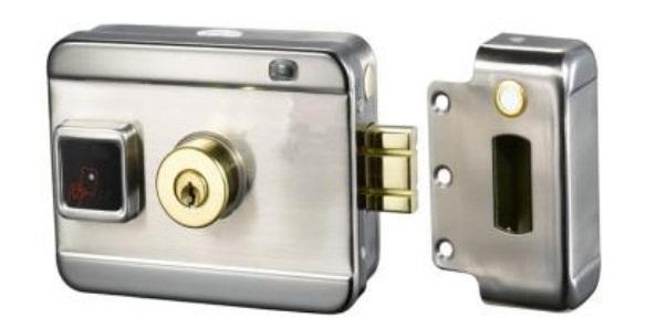Khóa chốt cửa điện từ NETONE NO-SMART RIM LOCK