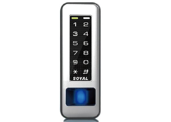 Kiểm soát cửa và chấm công vân tay, thẻ, mã PIN SOYAL AR-331EF