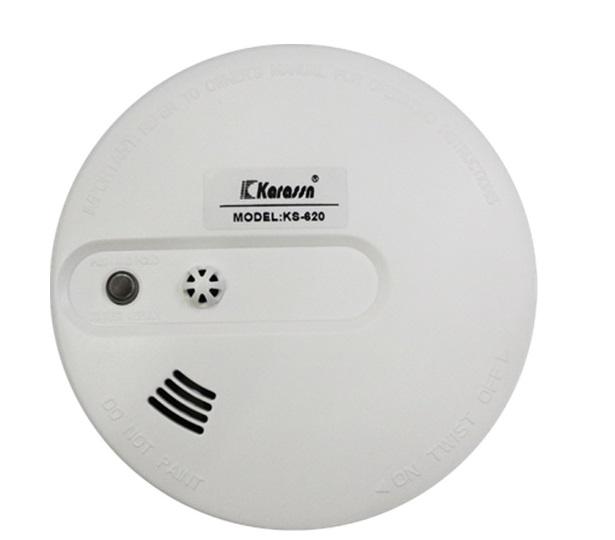Báo khói quang tích hợp báo nhiệt không dây KARASSAN KS-620