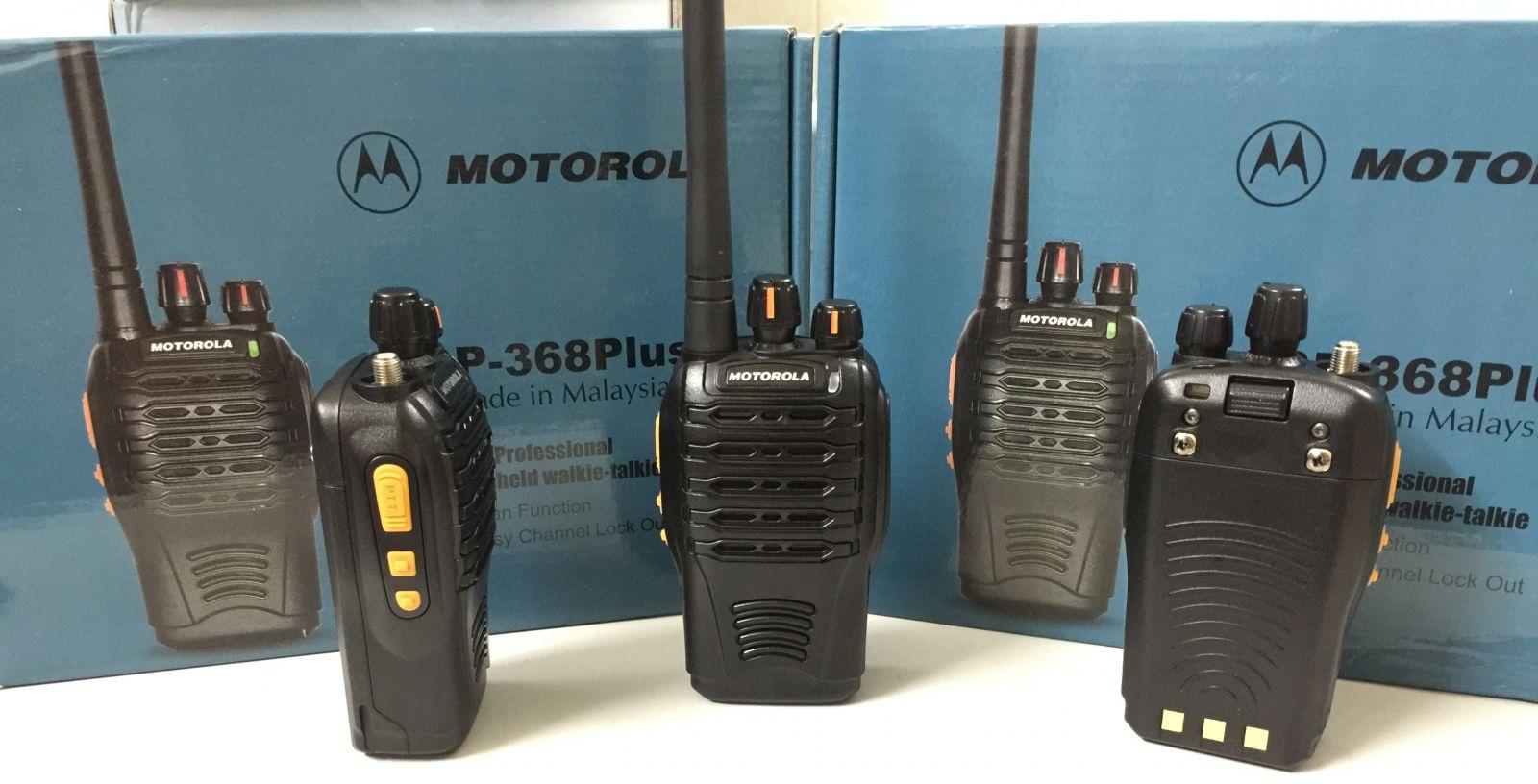 Má y bộđàm Motorola GP 368 PLUS