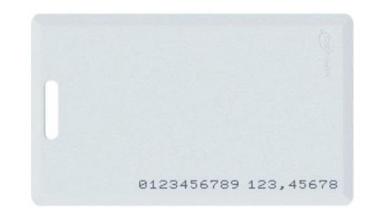 Thẻ cảm ứng Mango dày 1.8mm