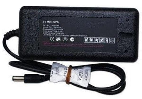 Nguồn pin lưu điện dùng cho máy chấm công UPS mini 5V và UPS mini 12V