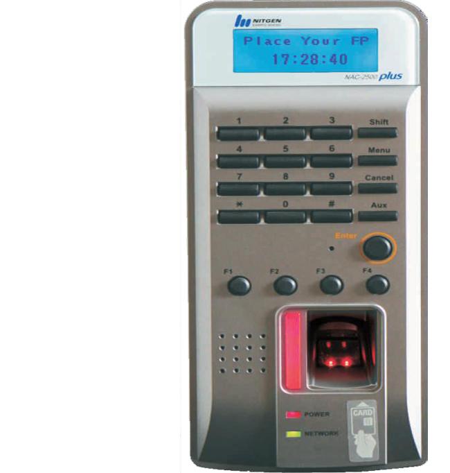 Máy chấm công NITGEN NAC-2500R Plus