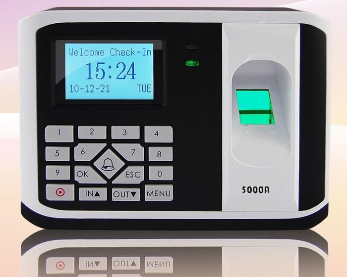 Máy chấm công và kiểm soát cửa bằng vân tay, thẻ cảm ứng RONALD JACK-5000AID