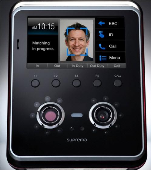 Máy chấm công nhận dạng khuôn mặt, thẻ, kết nối Wifi SUPERMA FaceStation FSMW
