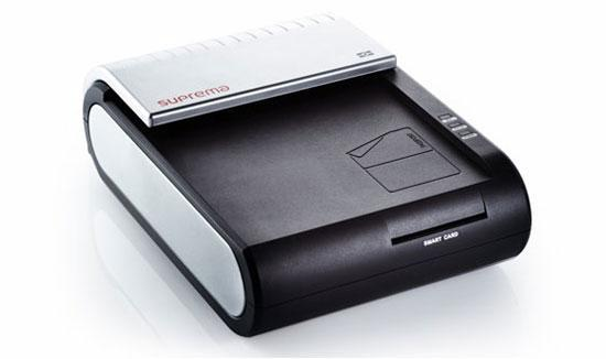 Máy kiểm soát vân tay thực SUPERMA RealPass-S