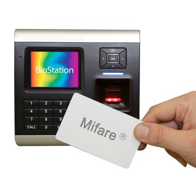 Máy chấm công kiểm soát ra vào và thẻ SUPREMA BioStation BSM-OC