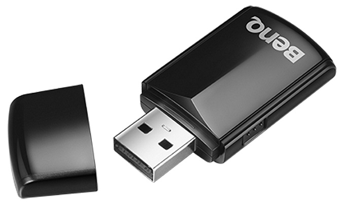 USB Wireless dongle BenQ WDRT8192