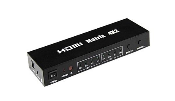 Bộ HDMI Matrix Sofly 4x2