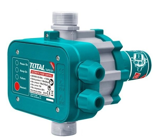 TOTAL TWPS101 pressure automatic water pump relay