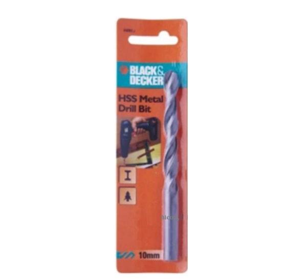 Mũi khoan sắt HSS 13.0mm Black & Decker A8087