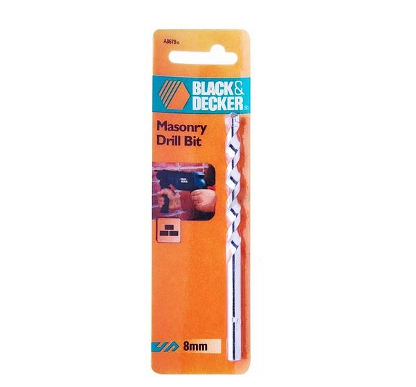 Mũi khoan gạch bê tông 8.0mm Black & Decker A8678