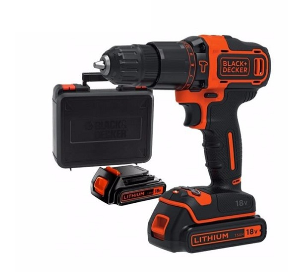 18V Black & Decker BDCHD18K2A battery hammer drill