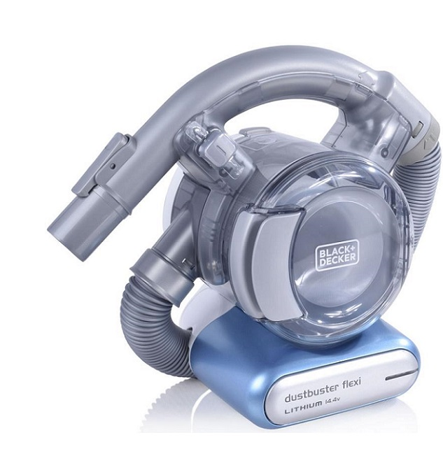 Vacuum cleaner with 14.4V Black & Decker PD1420LP battery