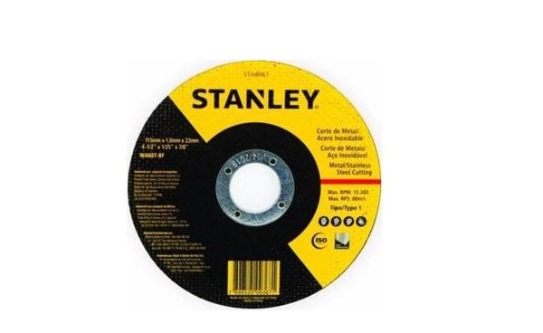 Đá cắt inox và sắt 100x2.5x16 mm STANLEY STA4520FA