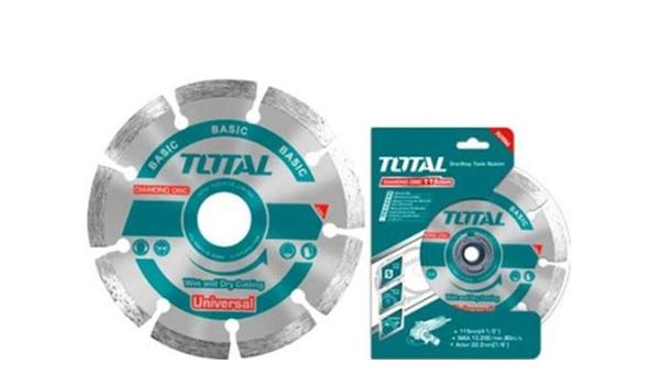 """Đĩa cắt gạch khô hợp kim 4""""/100mm TOTAL TAC2111003-1"""