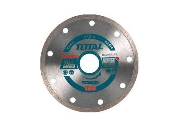 """Đĩa cắt gạch ướt hợp kim 115(4-1/2"""")mm TOTAL TAC2121153"""