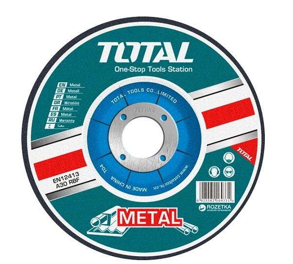 Đĩa cắt kim loại 180mm TOTAL TAC2211803SA (TAC2211803)