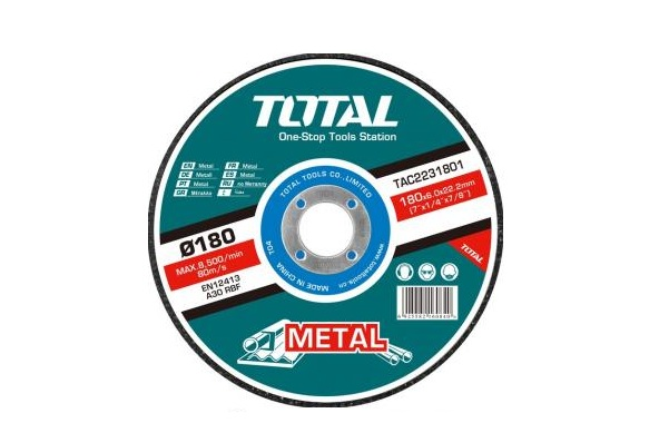 180mm TOTAL TAC2231801SA metal grinding disc (TAC2231801)
