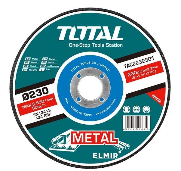 Đĩa mài kim loại 230mm TOTAL TAC2232301SA (TAC2232301)