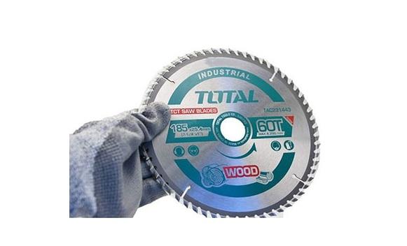 TCT 185mm 60 wood saw blades TOTAL TAC231443