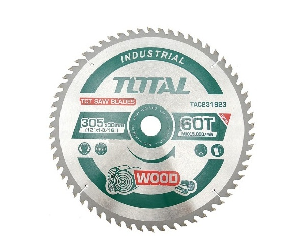Saw blade 305mm 60 tooth TOTAL TAC231923