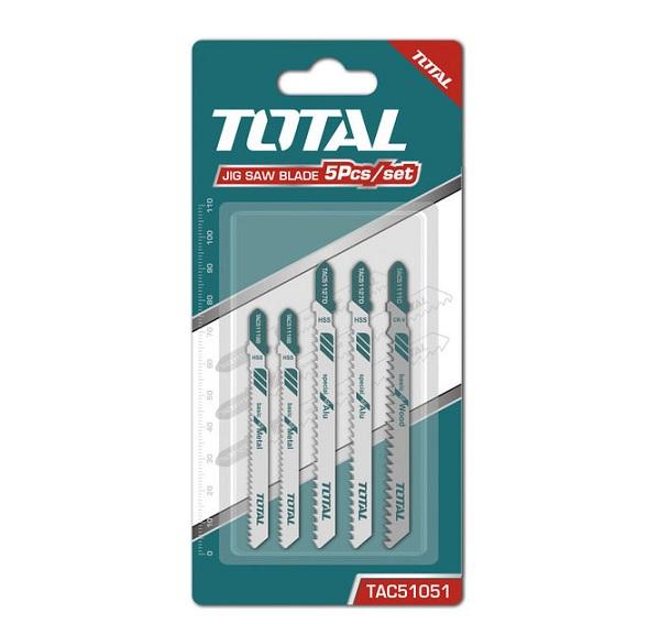 Bộ 5 lưỡi cưa lọng TOTAL TAC51051