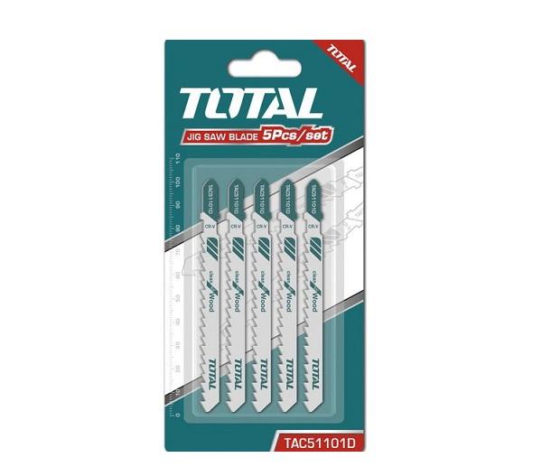 Bộ 5 lưỡi cưa lọng (cưa gỗ) TOTAL TAC51101D