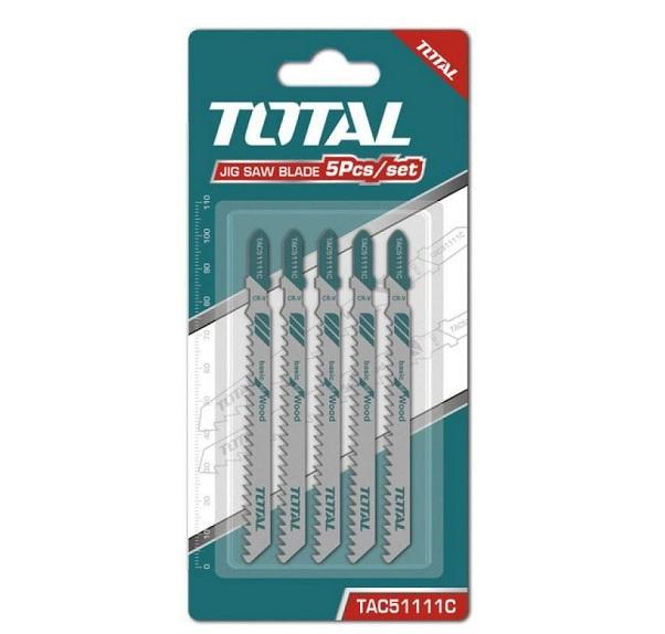 Bộ 5 lưỡi cưa lọng (cưa gỗ) TOTAL TAC51111C