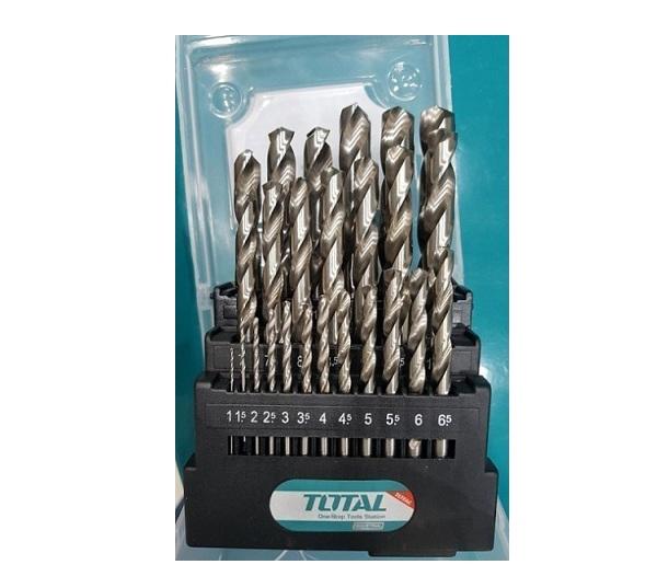 Set of 25 TOTAL TACSD0251 iron drills
