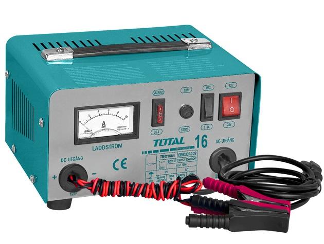 TOTAL TBC1601 battery charging machine