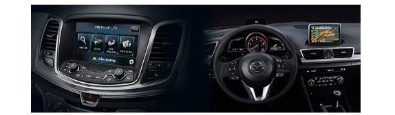 Bộ VIETMAP GPS Box cho xe Mazda 2, Mazda 3 2015+