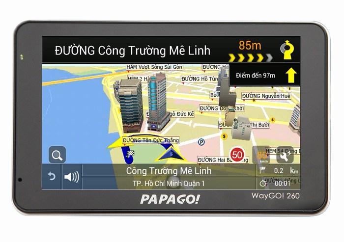 Máy định vị GPS dẫn đường PAPAGO WayGo! 260