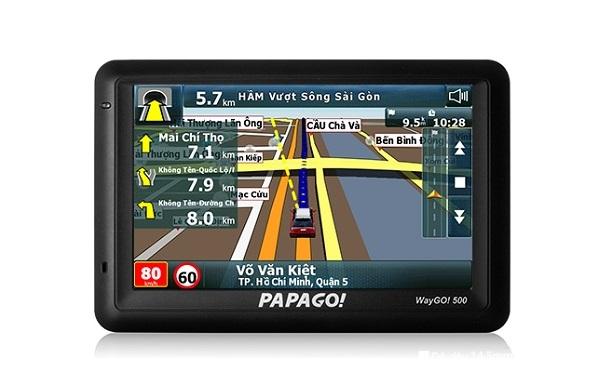 Máy định vị GPS dẫn đường PAPAGO WayGo!500