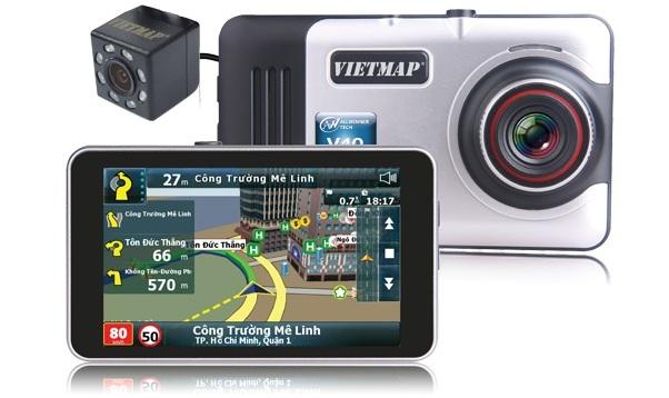 Thiết bị dẫn đường kết hợp ghi hình VIETMAP A45