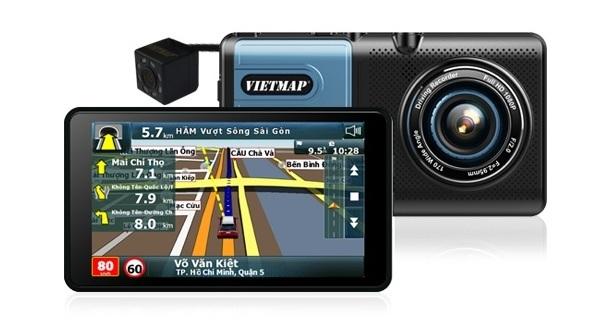 Thiết bị dẫn đường kết hợp ghi hình VIETMAP A50