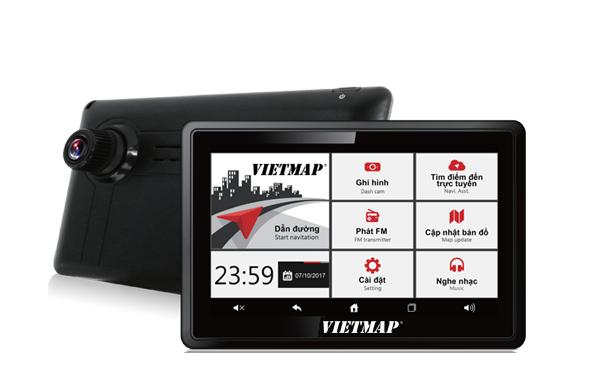 Máy định vị GPS dẫn đường VIETMAP W810