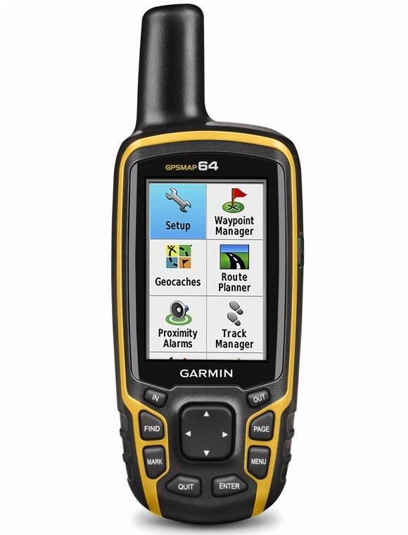 Máy định vị cầm tay GPS Garmin GPSMAP 64