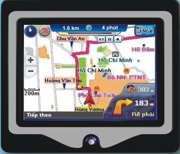 Máy bị định vị GPS dẫn đường Hyundai PND-3521T