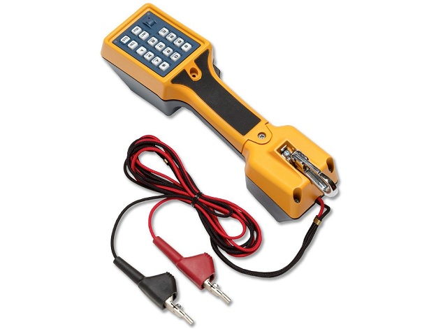Telephone test set with ABN TS22A FLUKE networks