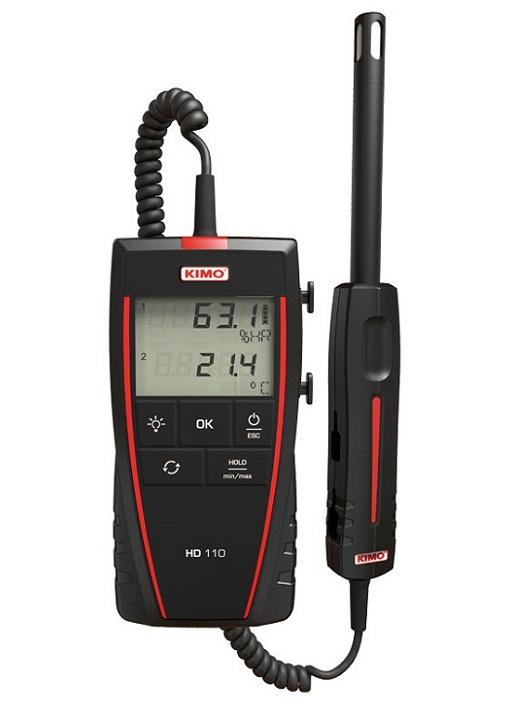 Máy đo nhiệt độ, độ ẩm không khí KIMO HD110