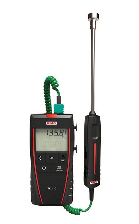 Máy đo nhiệt độ tiếp xúc 1 kênh đo KIMO TK110