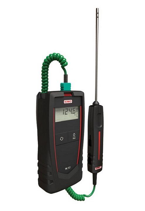 Máy đo nhiệt độ tiếp xúc 1 kênh đo KIMO TK50